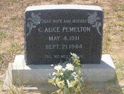 Cora Alice <I>Duncan</I> Pemelton