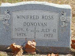 "Winifred Rose ""Rose"" <I>O'Brien</I> Donovan"