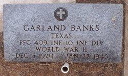 PFC Garland Banks