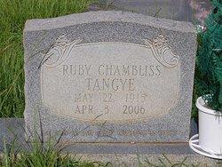 Ruby <I>Johnson</I> Chambliss Tangye
