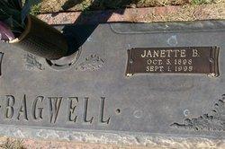 Janette B. <I>Baulch</I> Bagwell