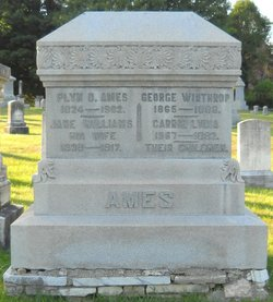 Jane <I>Williams</I> Ames