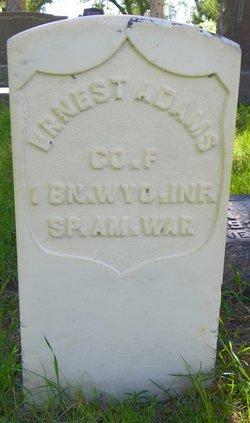 "William Ernest ""Ernie"" Adams"