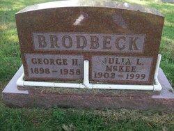 Julia Lee <I>McKee</I> Brodbeck