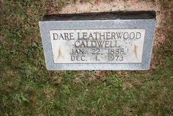 """Margaret Clara """"Dare"""" <I>Leatherwood</I> Caldwell"""
