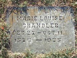 Marie L. <I>Wainwright</I> Chandler