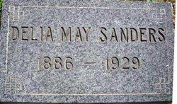 Delia May <I>Whitlock</I> Sanders