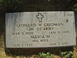 Leonard W Geedman
