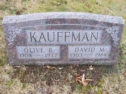 Olive B. <I>Hartzler</I> Kauffman