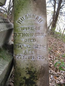 Ruannah <I>Hughes</I> Thompson