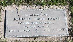 Pvt Johnny Fred Tarzi