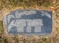 "Willanna ""Billie"" <I>DeLong</I> Carroll"