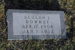 Beulah Lee <I>Watson</I> Downey