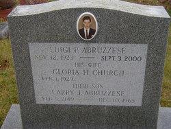 Gloria H. <I>Church</I> Abruzzese