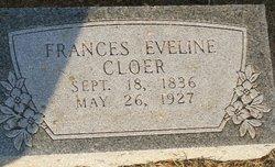 Frances Eveline <I>Redus</I> Cloer