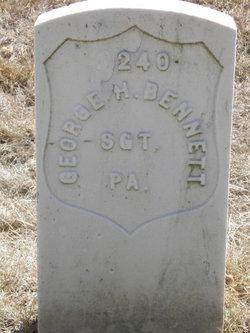 Sgt George H Bennett