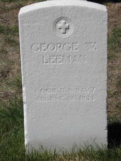 George W Leeman