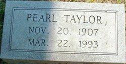 Pearl <I>Walker</I> Taylor