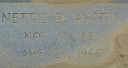 Nettie Mae <I>Dantzler</I> Austin