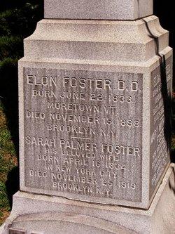 Sarah <I>Palmer</I> Foster