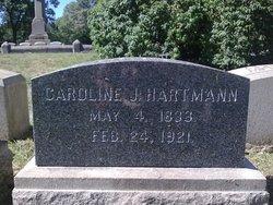 Johanne Caroline <I>Boldenweck</I> Hartmann