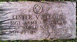 Sgt Lester V. Bebout