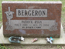Patrick Ryan Bergeron