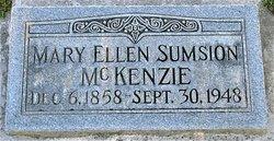 Mary Ellen <I>Sumsion</I> McKenzie