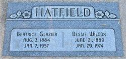Bessie Eugenia <I>Hatfield</I> Wilcox
