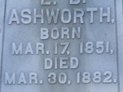 Leonard D. Ashworth