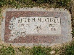 Alice Leora <I>Hudson</I> Mitchell
