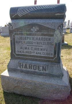 Alma Cynthia <I>Harrod</I> Harden