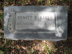Dewitt E Baker
