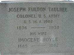 "Col Joseph Fulton ""Joe"" Taulbee"