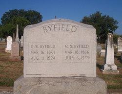"""Mary Siambra """"Molly"""" <I>Barnett</I> Byfield"""