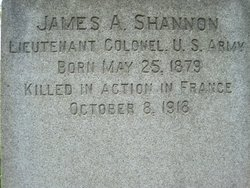 LTC James Andrew Shannon