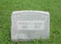 Minerva Blanche <I>Winters</I> Adams