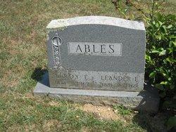 Leroy E. Ables