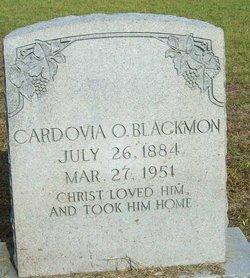 Cardovia Octavious Lee Blackmon