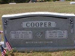 Henrietta <I>Starritt</I> Cooper