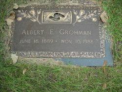 Albert E Grohman