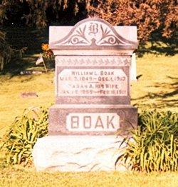 Sarah Ann <I>Vance</I> Boak