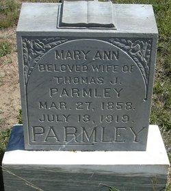 Mary Ann <I>Carrick</I> Parmley