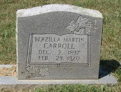 Berzilla <I>Martin</I> Carroll