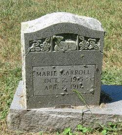Marie Carroll