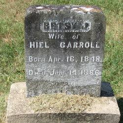 Betsy Jane <I>Hurt</I> Carroll