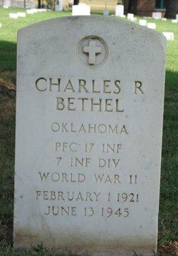 PFC Charles R Bethel