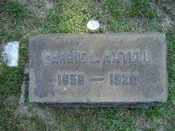 "Caroline Luella ""Carrie"" Axtell"