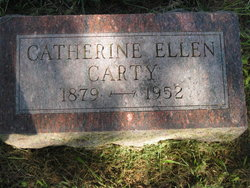 "Catherine Ellen ""Kitty"" <I>Fowler</I> Carty"