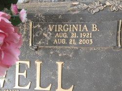 Virginia <I>Barton</I> Harwell